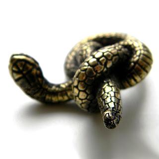 купить кулон змея подвеска символ 2013 года подарок на новый год