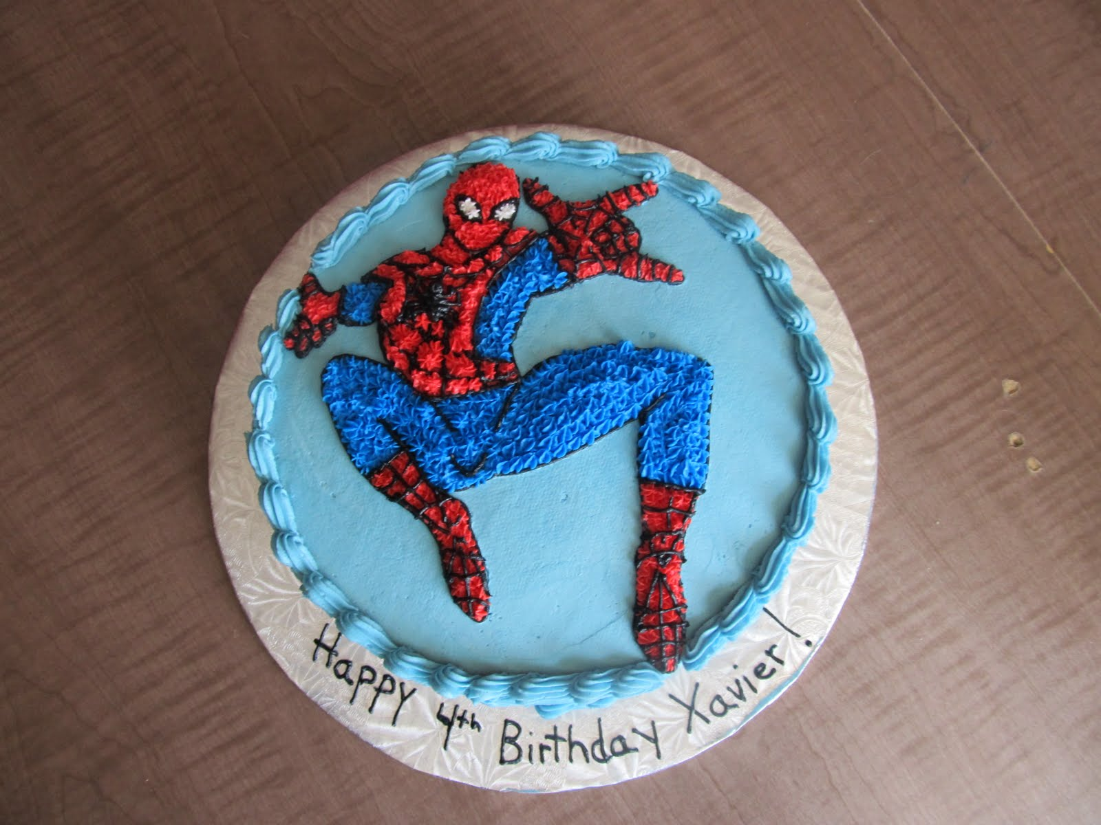 Cake Designs by Steph: Spiderman cake!