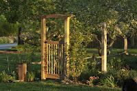 Garden Arbor With Gate3