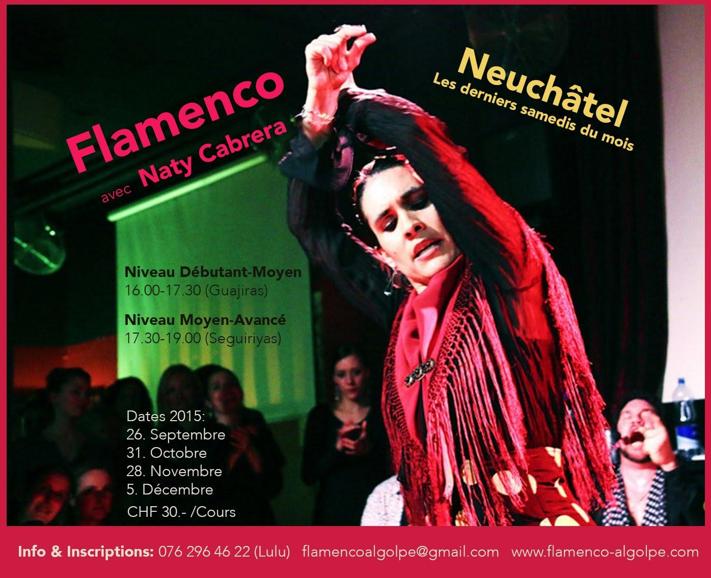 Clases de Baile Flamenco en Neuchâtel