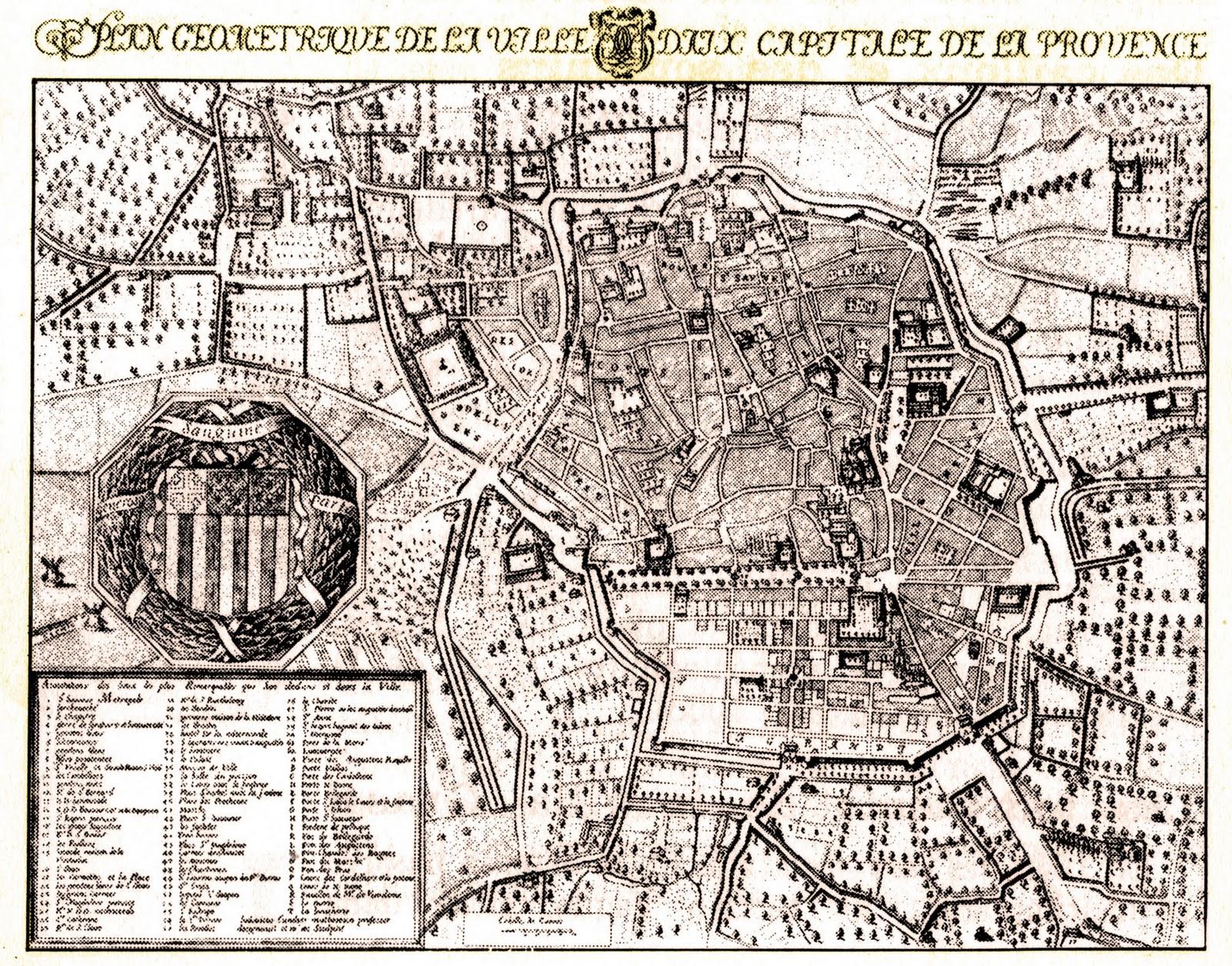 Vis le architecture urbanisme paysage patrimoine - Plan salon de provence ...