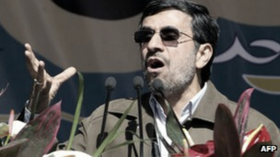 Ahmadinejad Says Enemies Destroy Iran's Rain Clouds