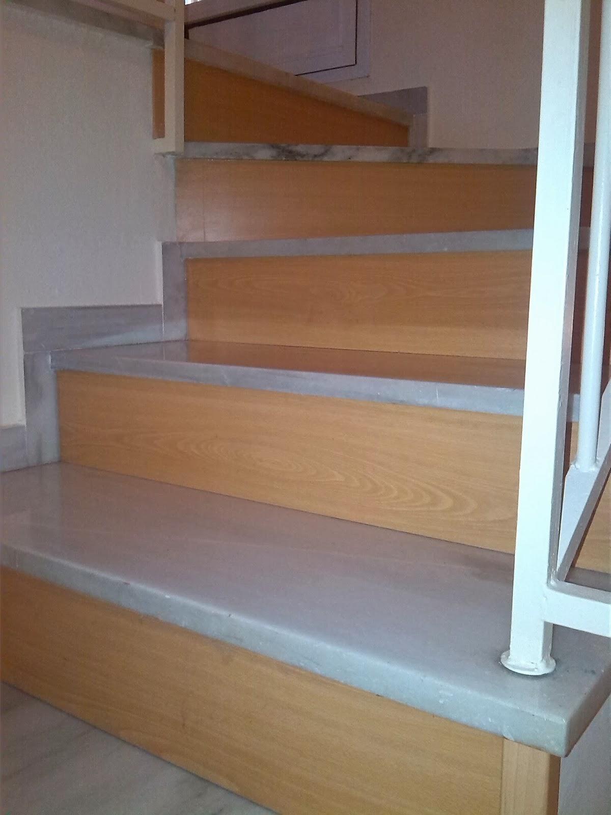 Nicolas rojas instalaciones tarima cocinas armarios for Escaleras de madera sencillas