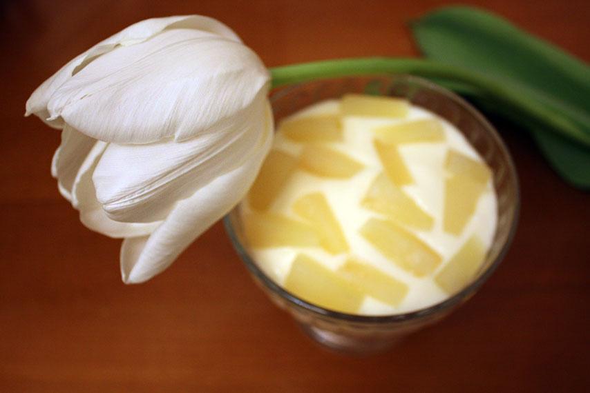 Ананасовый крем рецепт