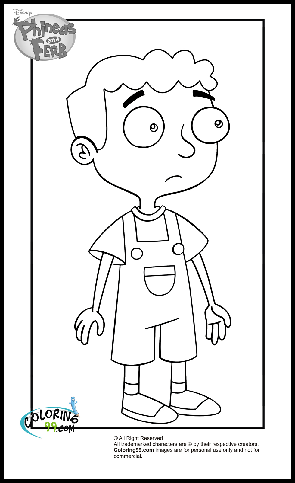 phinea and ferb coloring pages - photo#26