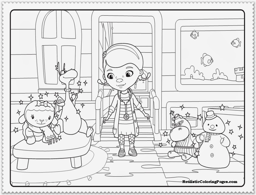 doc mcstuffins logo coloring pages - photo#4