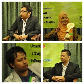Ahli Panel Seminar Buat Duit dengan Blog dari Seminar Denaihati