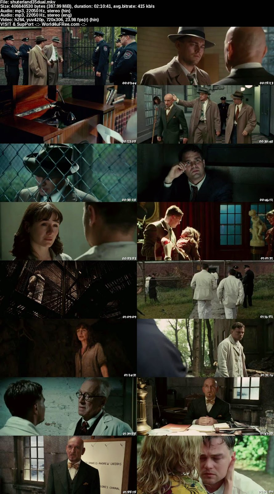 Shutter Island Full Movie With English Subtitles Watch Online