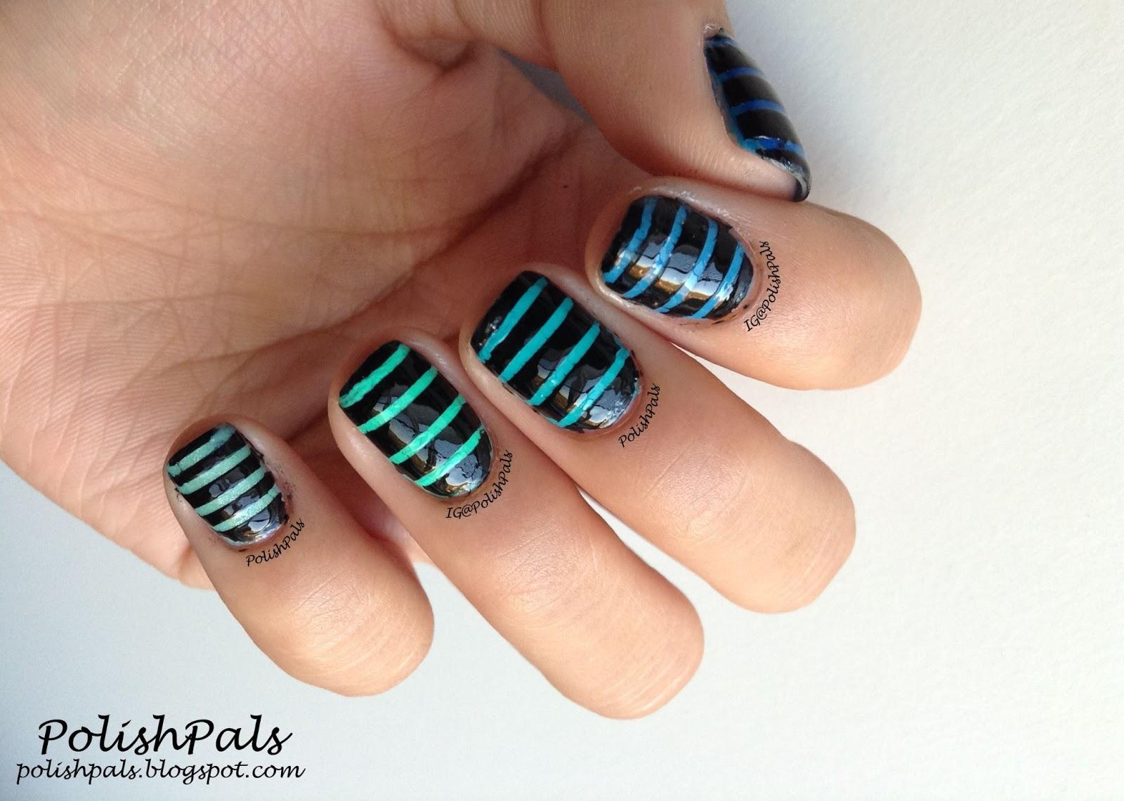 Polish Pals: Ombre Stripes