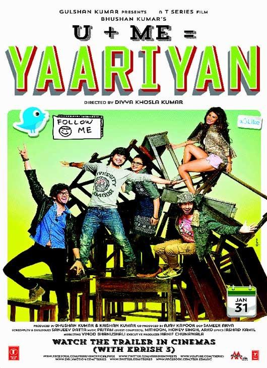 Yaariyan Poster Welcome To DownZedNet ...