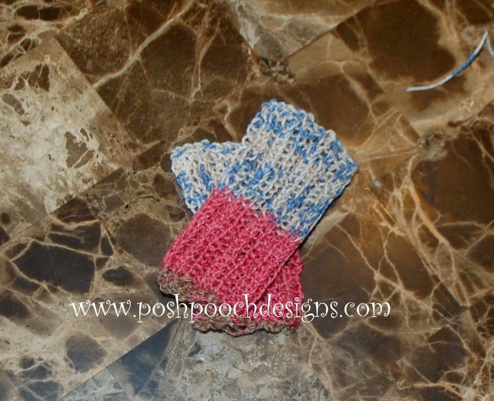 Dog Leg Warmers Knitting Pattern : Posh Pooch Designs Dog Clothes: Leg Warmers For Your Dog Free Knitting patter...