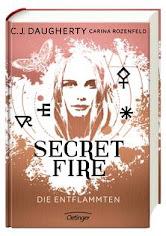READING: Secret Fire Die Entflammten von C.J. Daugherty