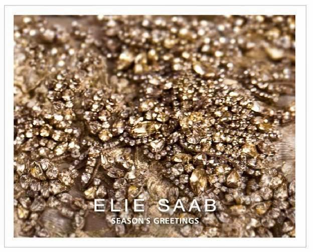 Christmas Elie Saab 2013