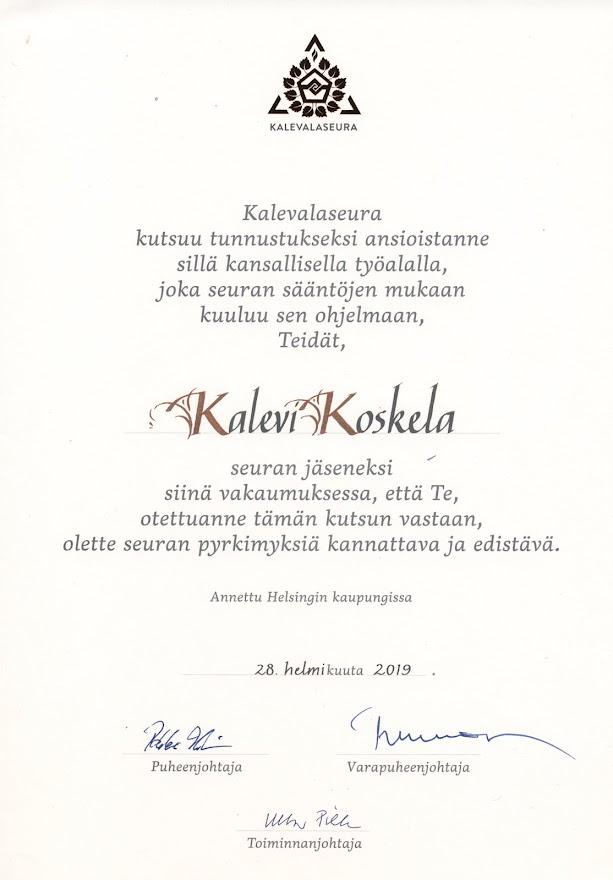 KIRNU à la Keravan Väinämöinen