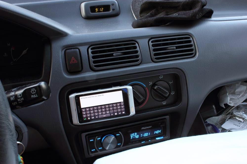 USB i bilen är ett måste, finns såå många bra podcast att lyssna på!