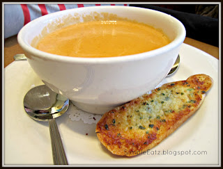 Crab Bisque with toasted crostini