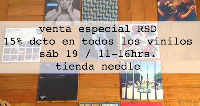 Record Store Day en Chile en Needle