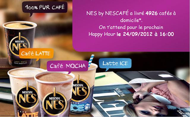 Nescafé NES : 10 000 échantillons gratuits