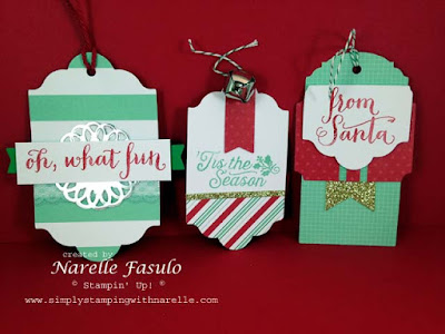 Simply Stamping with Narelle - Oh What Fun Tag Project Kit