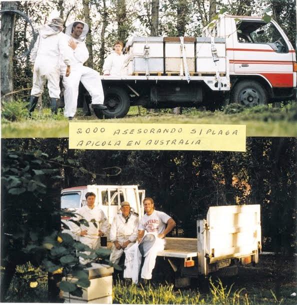 ALAN ASESORANDO EN AUSTRALIA 2000