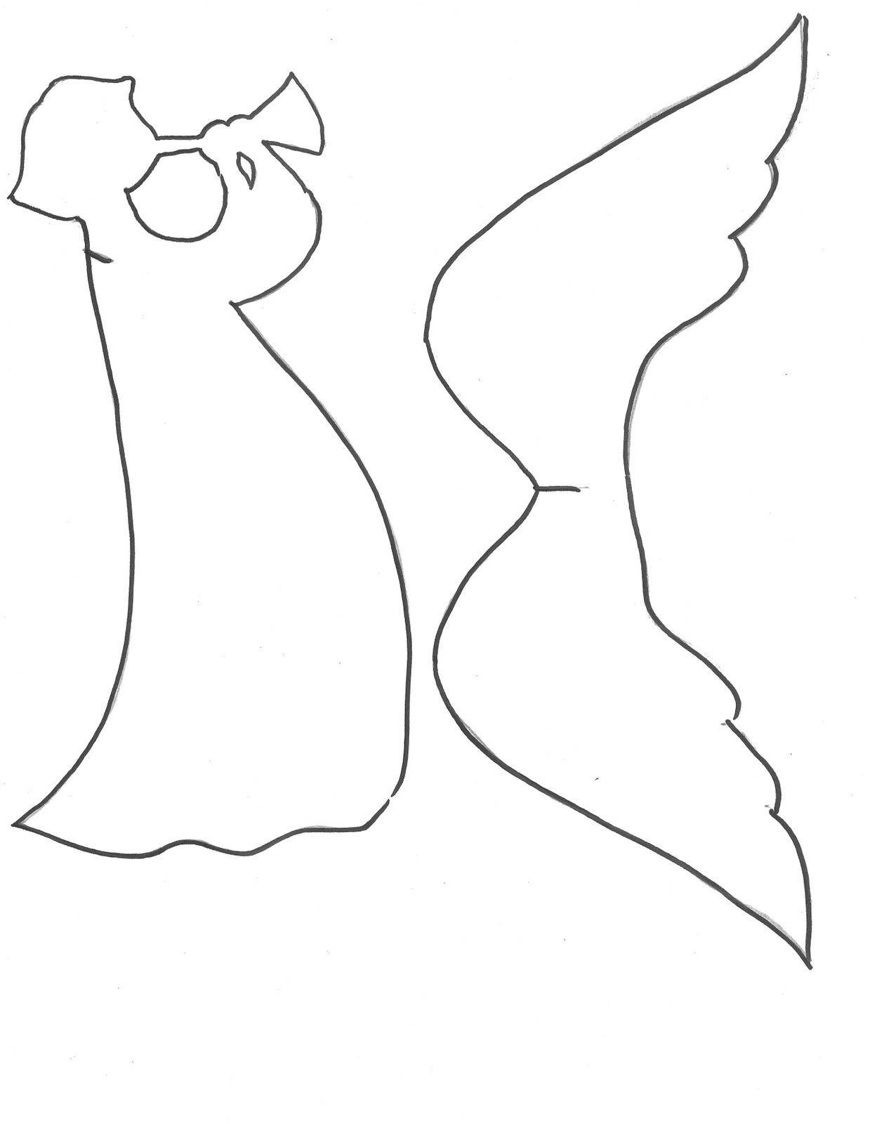 Ангелочек из бумаги своими руками фото
