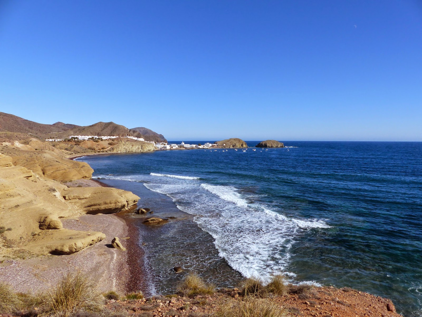 View towards La Isleta del Moro