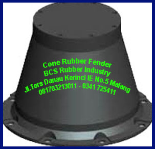 DESIGN  AND TYPES  CONE RUBBER FENDER