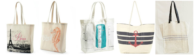 "Tricoastal Design Canvas Paris Reusable Tote $6.99 (regular $10.00) also in London  Tricoastal Design Seahorse ""The Beach"" Tote $6.99 (regular $10.00)  Nordstrom at Home Midnight Snack Canvas Tote Bag $12.06 (regular $18.00)  Magid Anchor Print Canvas Tote $24.97 (regular $45.00)  Urban Renewal Grain Sack Tote Bag $39.99 (regular $69.00)"