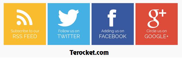 [Tips] - Tạo nút Social Buttons lớn kiểu Metro bóng mờ cho Blogspot Blogger