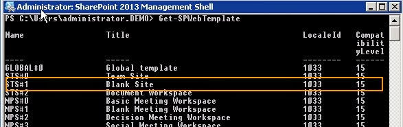 SharePoint tricks: Missing Blank Site Template in SharePoint 2013