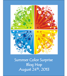 """Summer Color Surprise"" Blog Hop"
