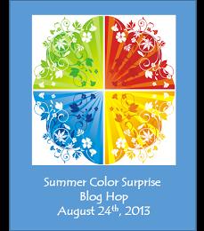 """Summer Color Surprise"" Blog Hop"
