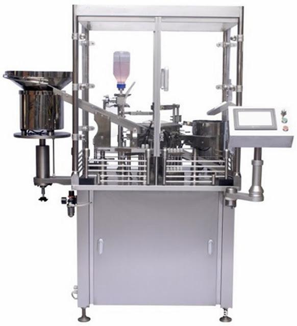 prefilled syringe filling capping machine Jeringuilla Semi-Auto que llena y que tapa la máquina
