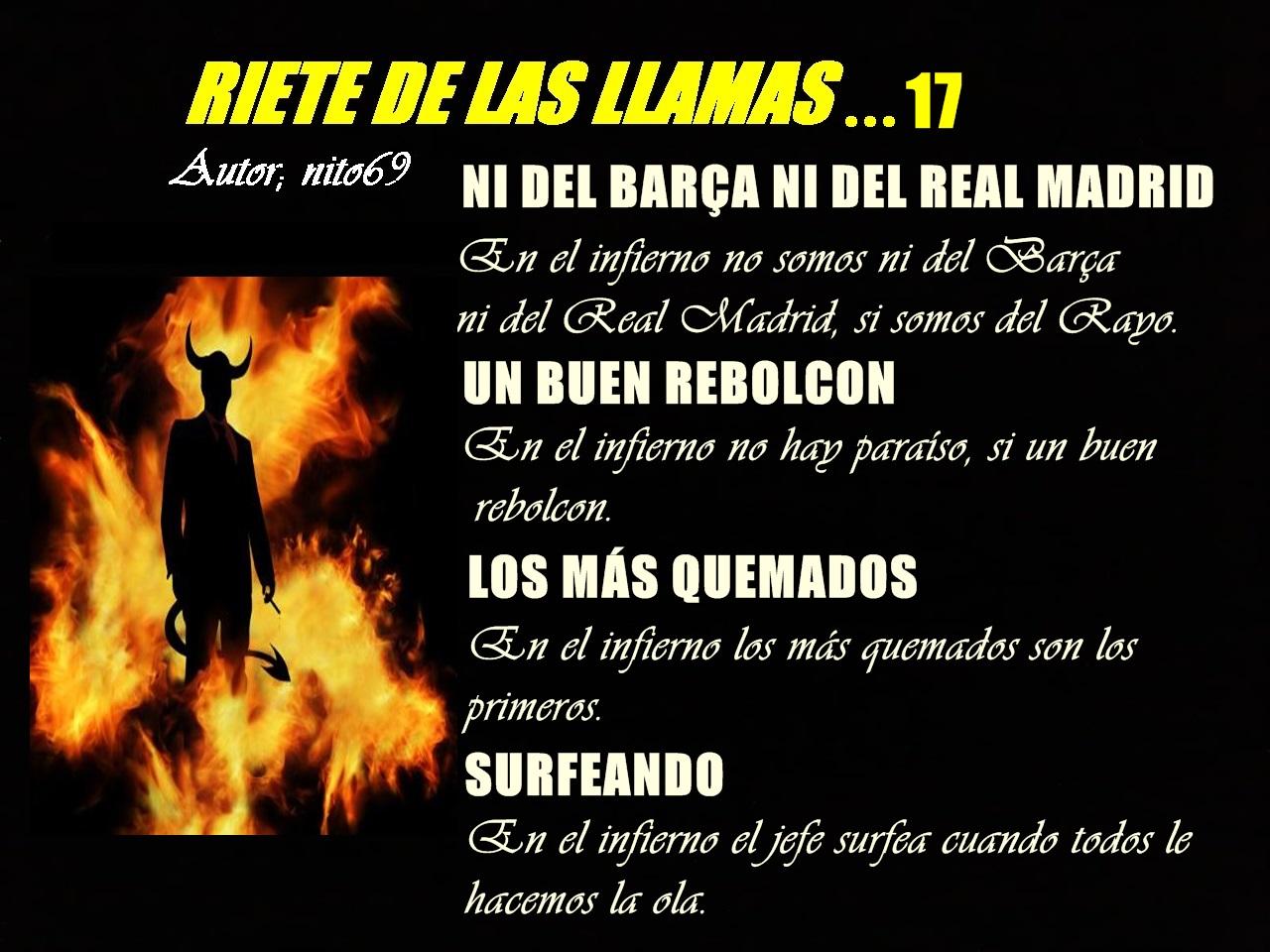 RIETE DE LAS LLAMAS…17