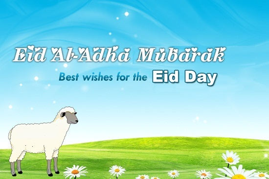 best wishes on Eid Al Adha