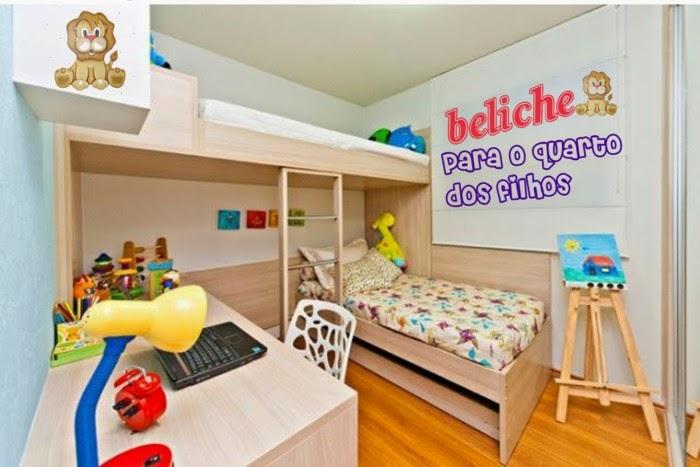 Beliche infantil Dicas para o quarto das crianças  ~ Ver Jogo De Quarto Infantil Nas Casas Bahia