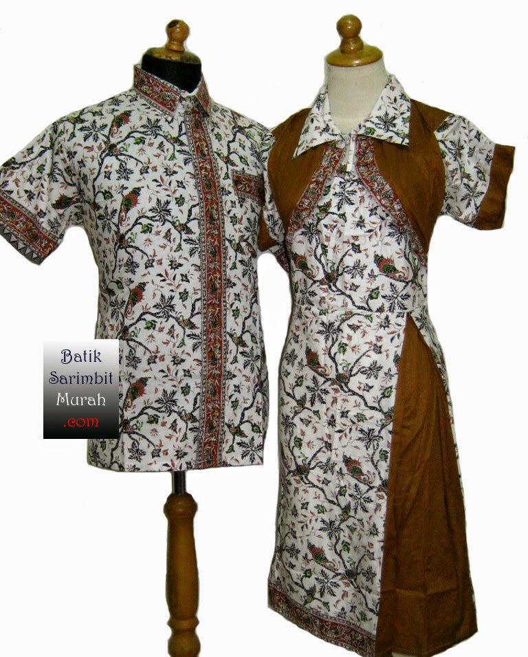 Fashion Clothing Modern Batik Gallery 2015 Indonesia