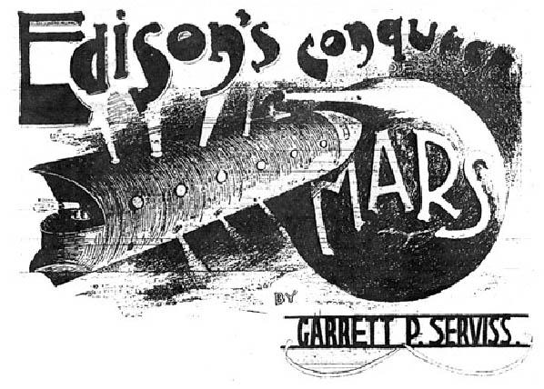War of the Worlds Edisonsconquestofmars