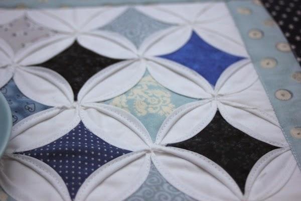 tecnica de patchwork ventanas de catedral