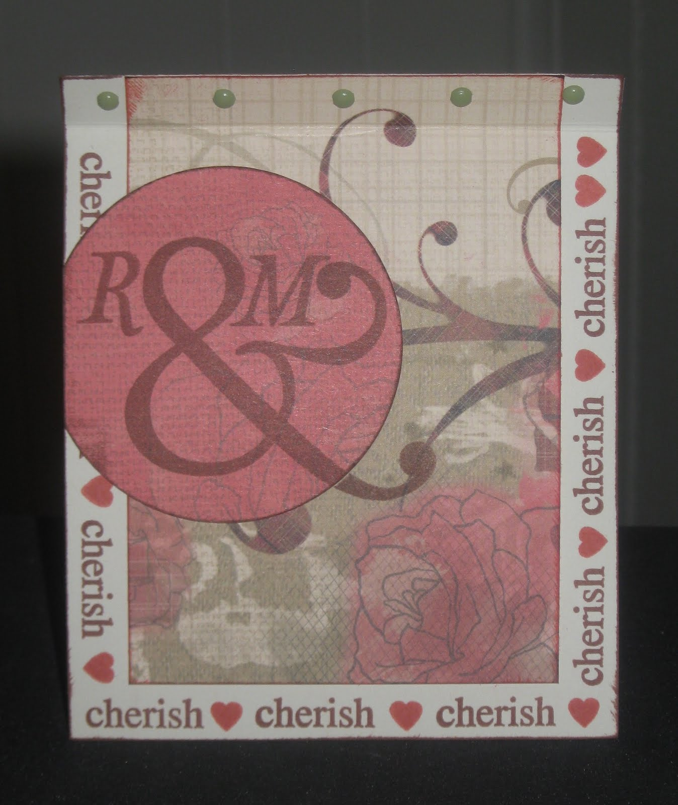 Even More Scrapping!: Roxie Wedding Card