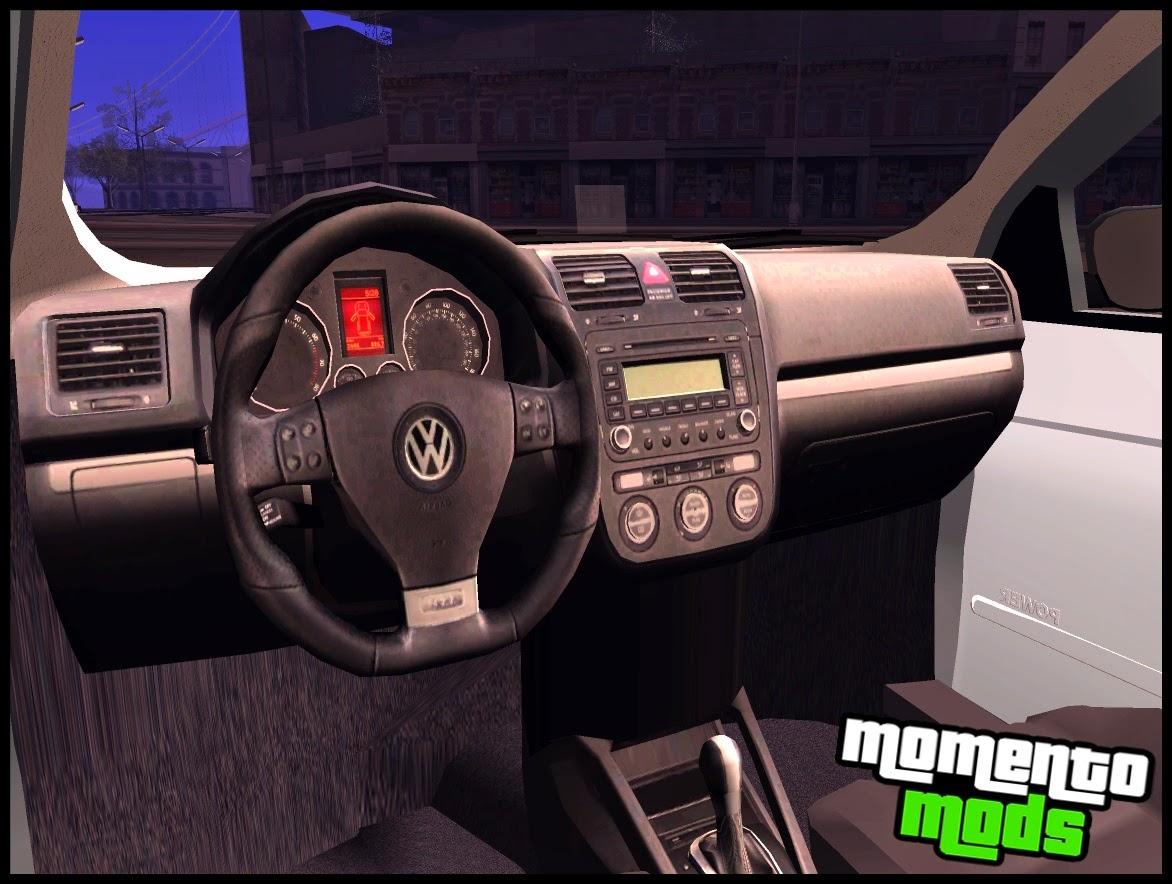 GTA SA - Gol G5 + Fixa + Interior