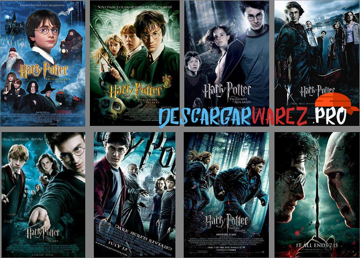 Saga Harry Potter DVDRip Latino