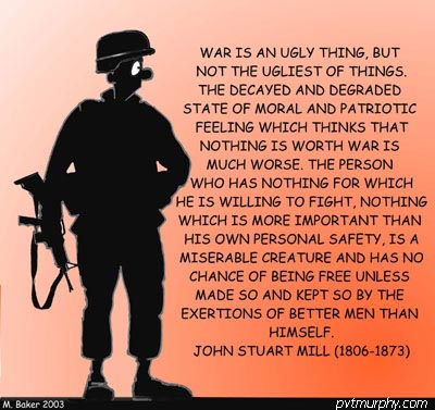 war is an ugly thing essay