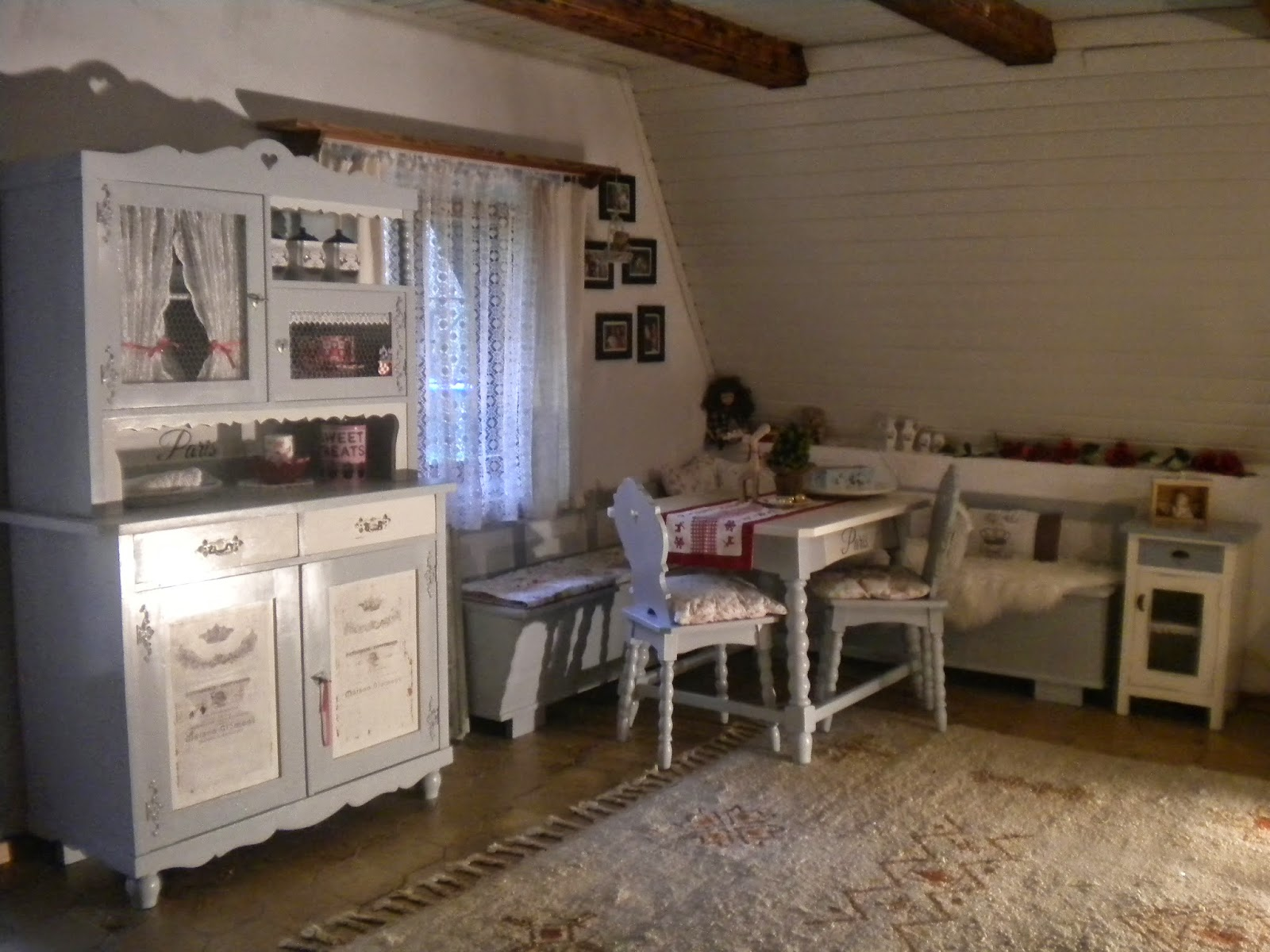 shabby chic by frances esszimmer vorher nachher. Black Bedroom Furniture Sets. Home Design Ideas