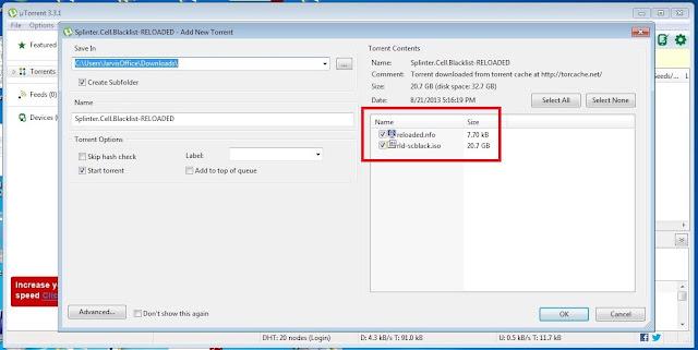 add torrent file window