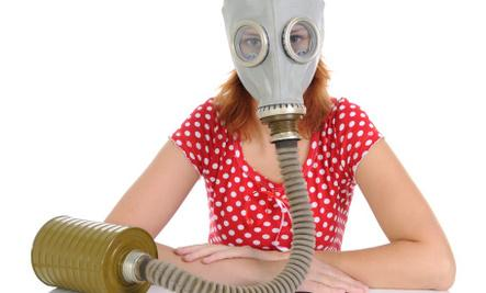 9 Signs You're In A Toxic Relationship  - woman wear mask gas