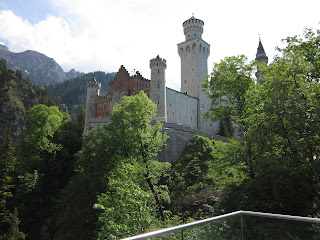 Neuschwanstein Castle in Fussen Germany was our entry point to the Alps and Austria