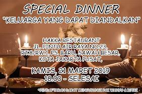 Ibadah Pasutri, 21 Maret 2019 Jam 18.00 WIB