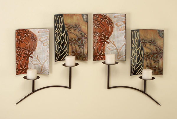 Decorating Ideas For Wall Sconces : Wall Decor ~ Home Wall Decor Ideas