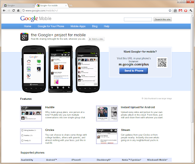 Google + Update For Mobile Device Users